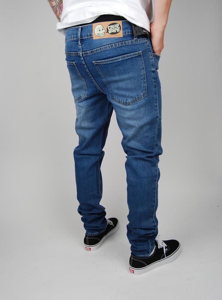 Cheap monday tight jeans base dark blue