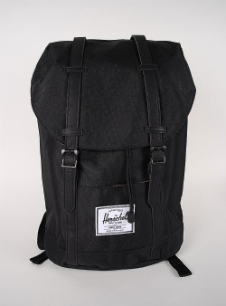 Herschel Retreat Black black