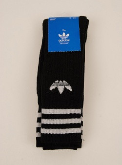 Adidas Solid crew sock 3 pack Black