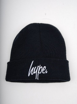 Hype Script beanie French terry