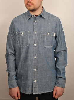 Carhartt Clink shirt Blue rinsed