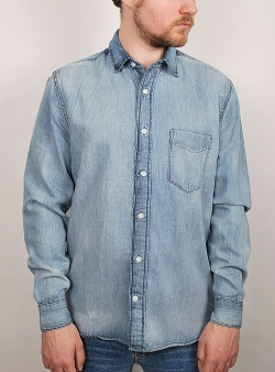 Cheap Monday Air denim shirt Blue