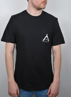 Poler Pocket tee tented Black