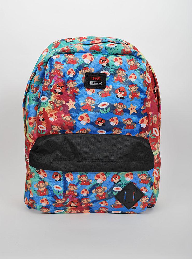Vans X Nintendo old skool II backpack Väskor på Sportif Unlimited 4603416cca2d9