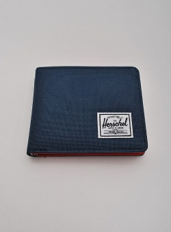 Herschel Roy coin wallet Navy red