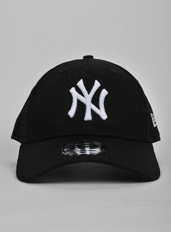 New Era NY Yankees 9forty Black white