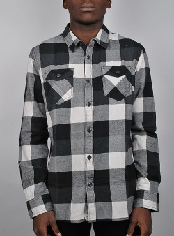Vans Box flannel Black new charcoal