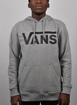 Vans Classic pullover hood Concrete heather black