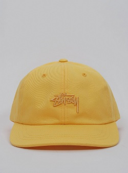 Stussy Stock low cap Yellow