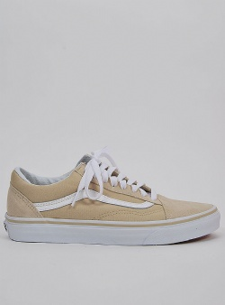 Vans Old skool Pale khaki true white