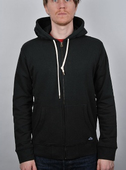 Obey Lofty creature comfort zip hood Black