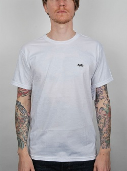 Obey Suckers inc premium tee White