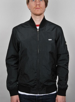 Obey Eightball II bomber jacket Black