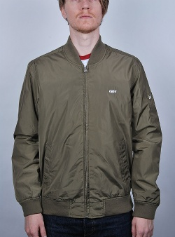 Obey Eightball II bomber jacket Dusty army