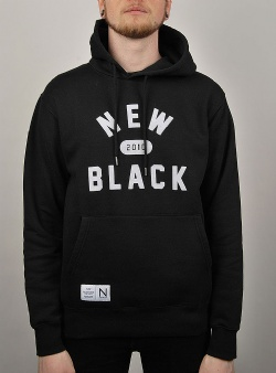 New Black Ivy hood Black