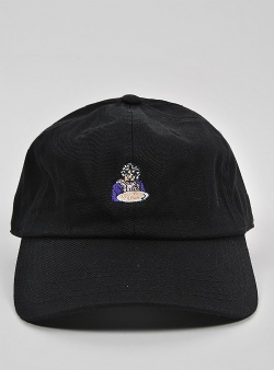 40s and shorties Pancakes dad hat Black