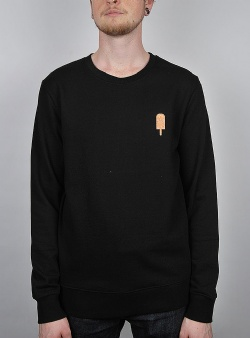 Revolution Ice cream sweat Black