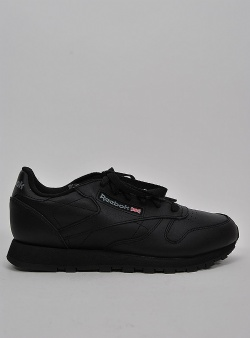Reebok Classic leather womens Black
