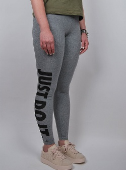 Nike Leg a see just do it legging Carbh black