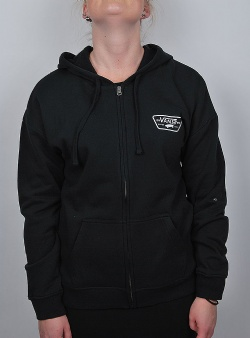 Vans Full patch zip hoodie Black