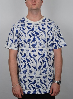 Dedicated Blue birds tee Off white