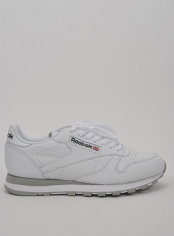 Reebok Classic leather White light grey