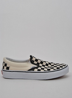 Vans Classic slip-on Checkerboard black white