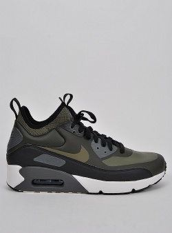 Nike Air max 90 ultra mid winter Sequoia medium olive black
