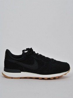Nike Internationalist se womens Black black deep green