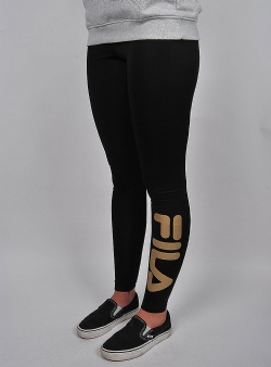 Fila Flex 2.0 leggings Black gold