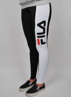 Fila Zoe leggings Black bright white