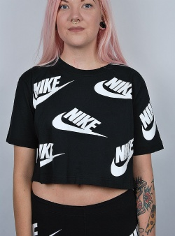 Nike Futura toss top Black white