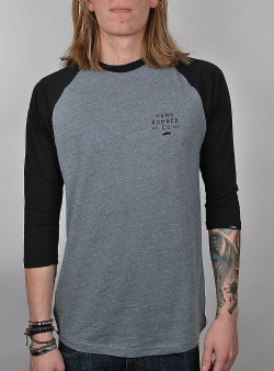 Vans Stacked rubber raglan Heather grey black