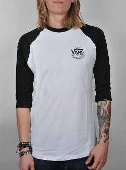 Vans Holder st raglan White black