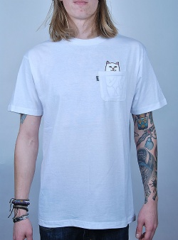 Rip n Dip Lord nermal tee White