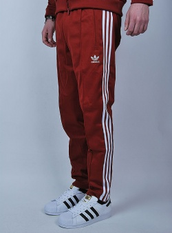 Adidas Beckenbauer track pant Rusred