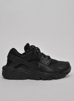 Nike Air huarache run womens Black black