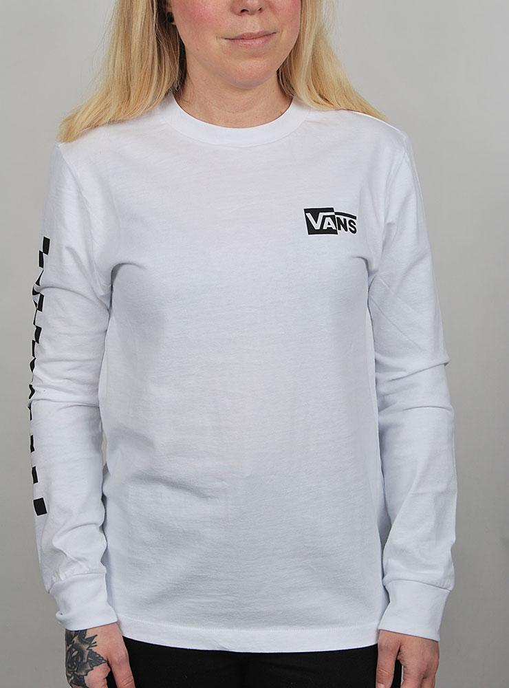 6c811347b Vans Half checked long sleeve tee T-shirts och linnen Långärmade t ...