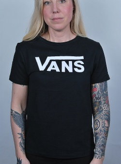 Vans Flying v tee Black