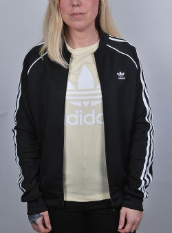 Adidas Superstar track top Black