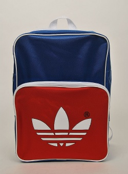 Adidas Archive backpack adicolor Blue red
