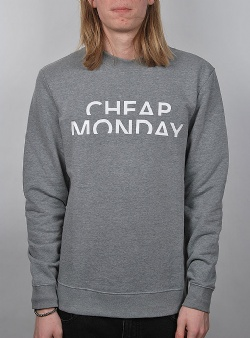 Cheap Monday Worth sweat Grey melange