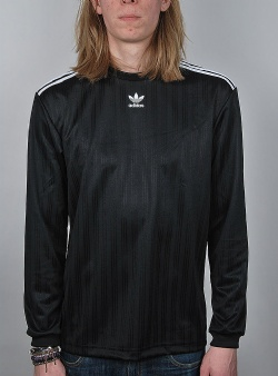 Adidas Long sleeve jersey tee Black