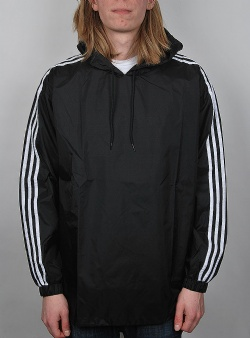 Adidas Poncho windbreaker Black