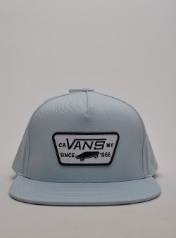 Vans Full patch snapback Baby blue