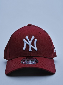 New Era NY Yankees 9forty Carmine red