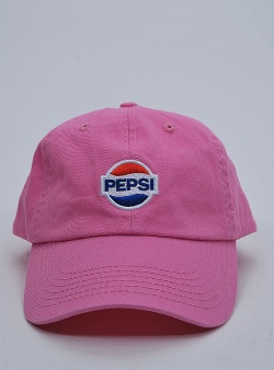 Sweet sktbs x Pepsi Gone logo adjustable Pink