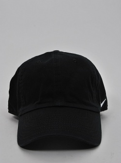 Nike H86 side swoosh cap Black