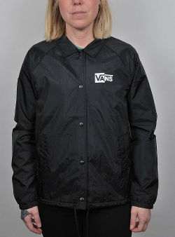 Vans Thanks coach check jacket Black