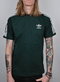 Adidas 3 stripes tee Grnnit